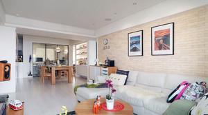 清新混搭型公寓客厅
