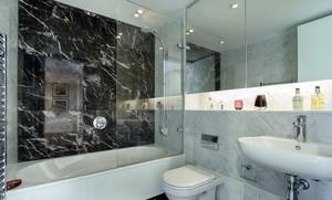 清新纯净型卫生间装修效果图
