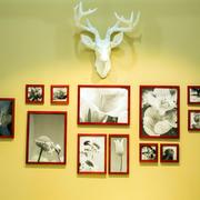 跃层浪漫系列照片墙设计效果图
