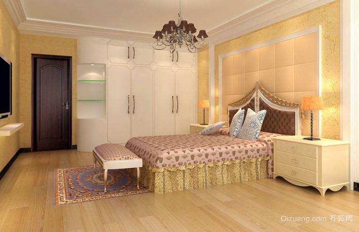 老房自然风格小卧室装修效果图