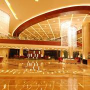 200平米混搭型酒店大堂设计装修效果图