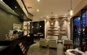100平米时尚风格咖啡店装修效果图
