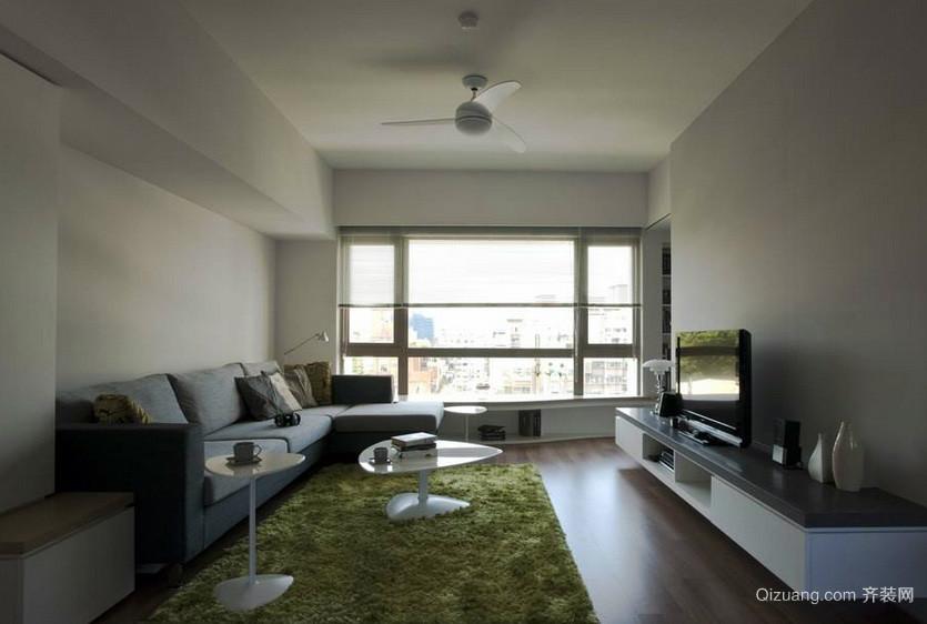 50平米现代小型公寓客厅装修效果图