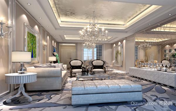 2016精美的现代小户型欧式客厅装修效果图实例
