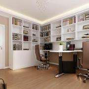 书房地板砖效果图片