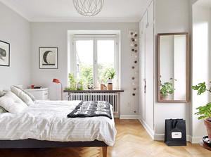 简约纯洁小户型卧室装修设计效果图