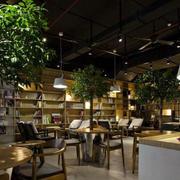 舒服感咖啡厅效果图