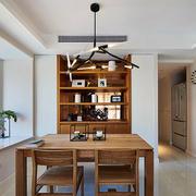 小户型简约原木餐厅设计