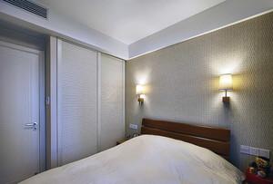 3居室简约原木式小户型家庭装修效果图