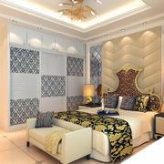暖色调卧室造型图