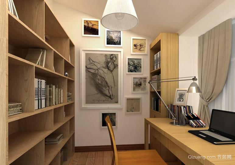 15平米小型书房设计装修效果图