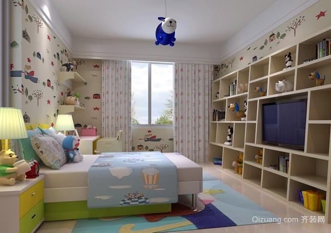 2016 复式楼 宜家 风格房间布置 装修 效果图 齐装
