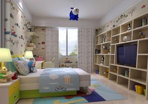 2016复式楼宜家风格房间布置装修效果图