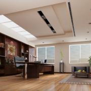 2016经典的总经理办公室吊顶装修效果图