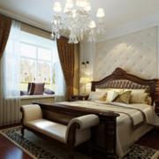 100平米房屋大户型欧式卧室装修效果图实例