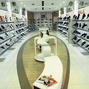 清新风格鞋店效果图片