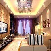 浪漫时髦小户型客厅吊灯图片
