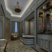唯美的室内灯光设计