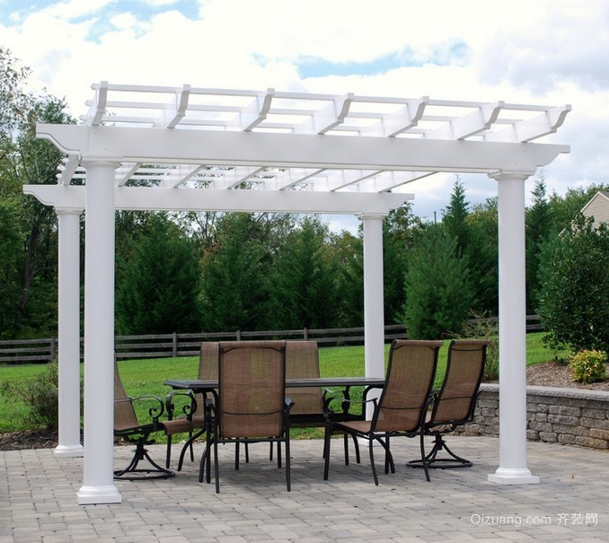 120平米大户型欧式阳台花园装修效果图鉴赏