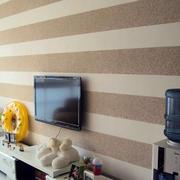 大户型环保型硅藻泥电视背景墙图片