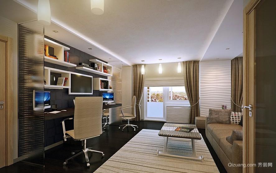 精致现代小户型客厅装修设计效果图