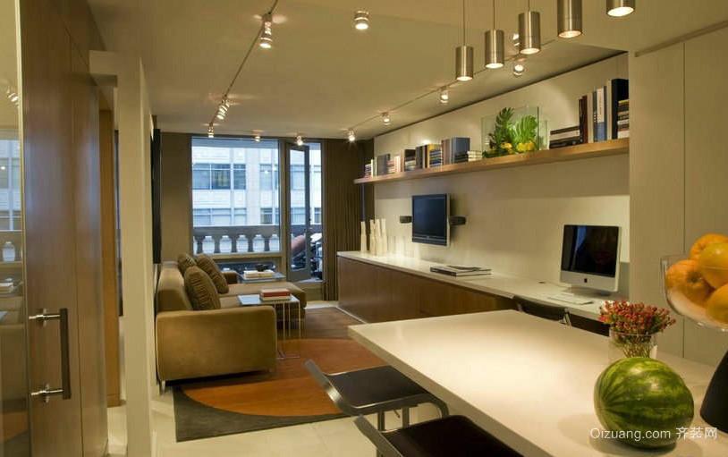 朴素60平米小户型客厅装修设计效果图