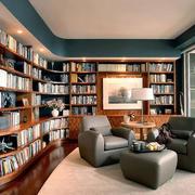 时尚风格书房效果图片