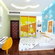 大户型充满童趣儿童房设计装修效果图