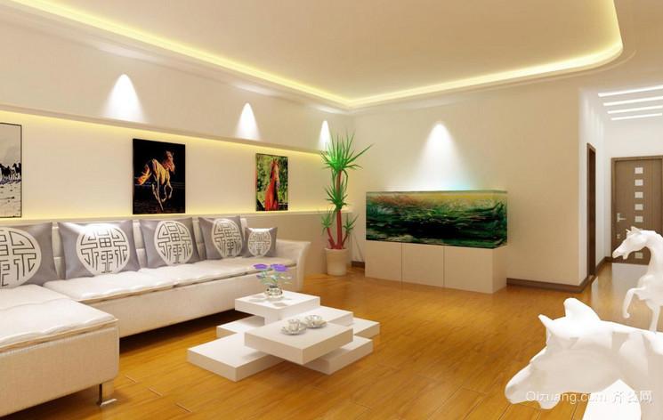 单身公寓室内客厅装修效果图大全