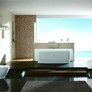 现代浴室整体设计