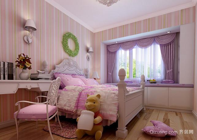 大户型时尚风格儿童房设计装修效果图