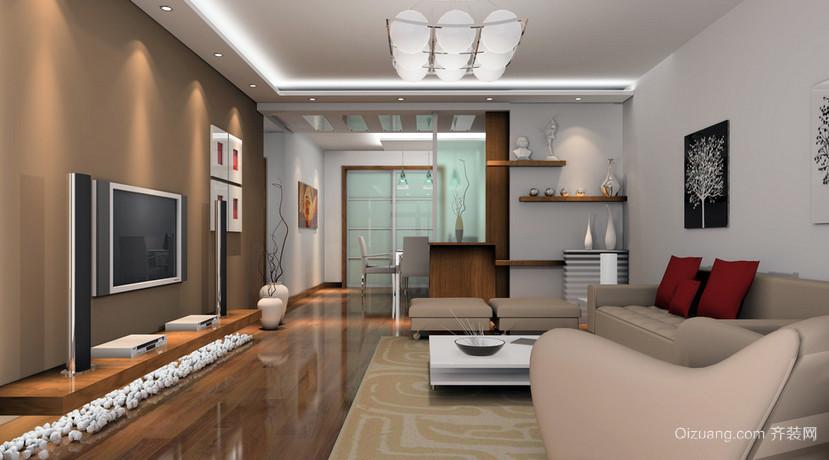 单身公寓时尚风格室内装修效果图大全