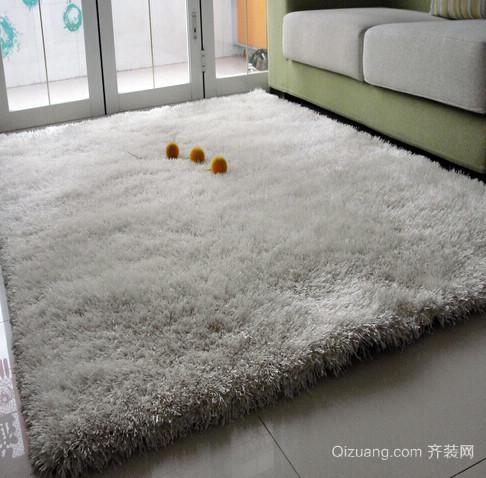 2016别墅柔软材质地毯效果图片
