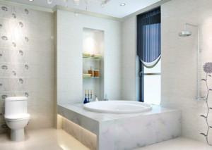 70平米欧式小户型浴室装修效果图实例