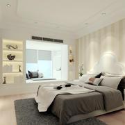 简欧风格单身公寓卧室装修效果图