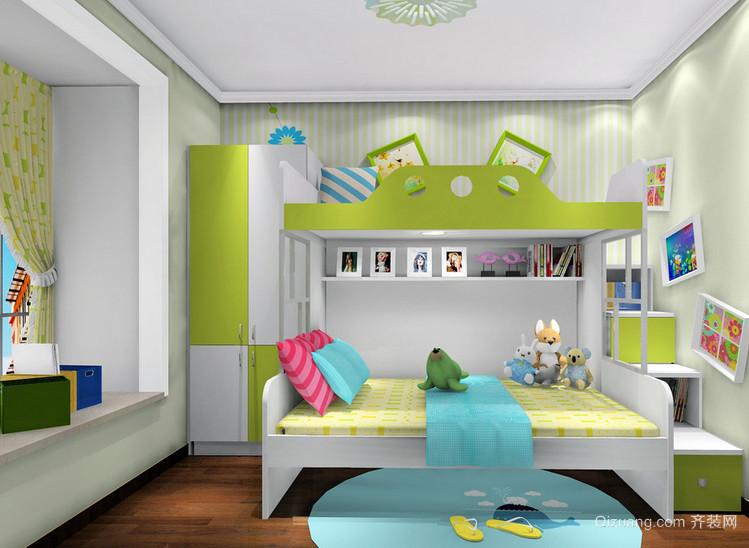 小户型精致儿童房设计装修效果图