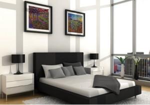 100平米大户型现代简约卧室装修效果图鉴赏