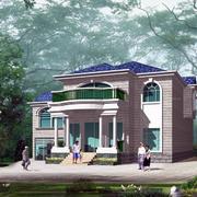 唯美的别墅整体设计