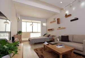 朴实无华:一居室单身公寓装修效果图
