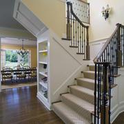 现代实木楼梯设计图