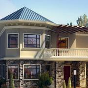 完美的别墅造型图