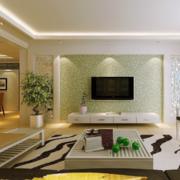 2016经典的欧式大户型客厅电视背景墙效果图