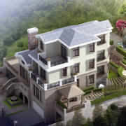现代别墅实景图