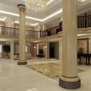 2016精致的欧式别墅楼中楼装修效果图鉴赏