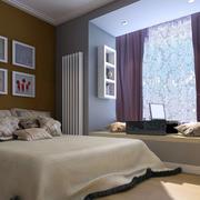 简约2016单身公寓卧室装修效果图
