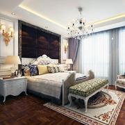 现代室内卧室造型图