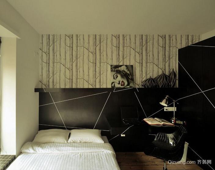 2016大户型精致的后现代装修风格卧室效果图