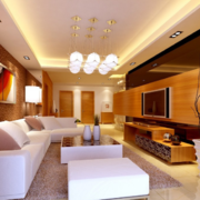 2016小户型精美的欧式客厅装修效果图欣赏
