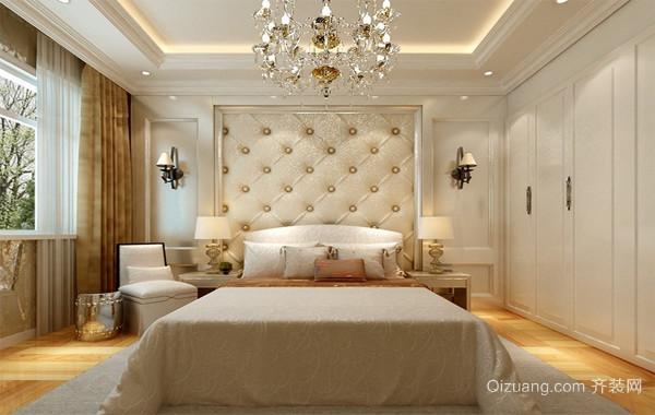 经典唯美的大户型现代欧式室内卧室装修效果图