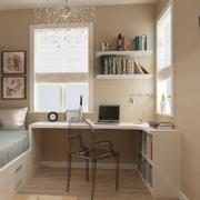 2016大户型现代欧式儿童房书桌装修效果图
